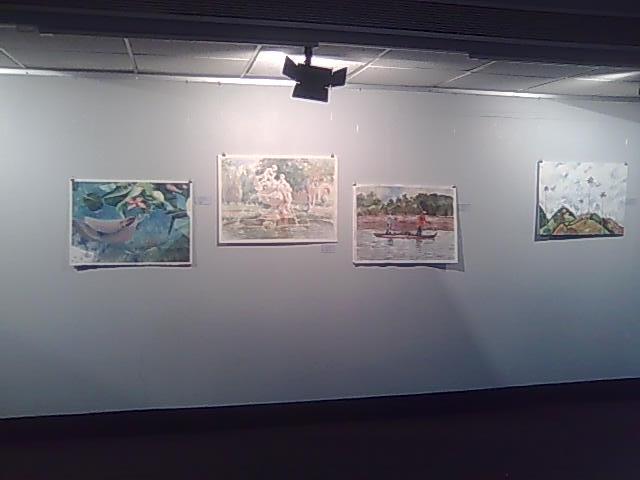 Parte de la exposición de Guayaquil.